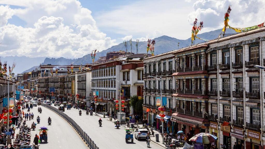Город Лхаса в Китае цены