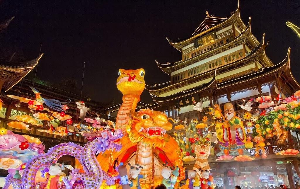 Китайский новый год, новый год в китае 2018