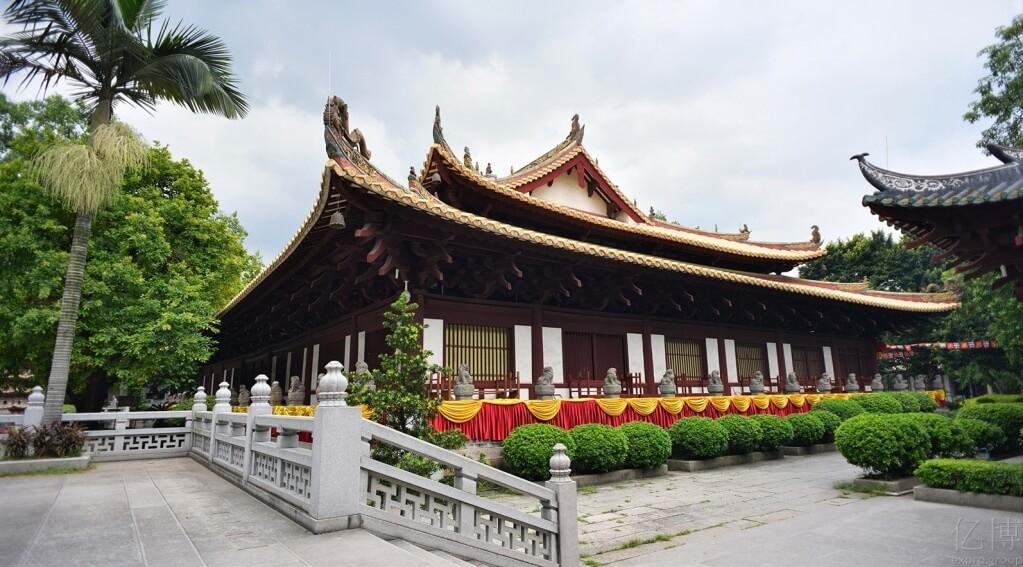 достопримечательности гуанчжоу, достопримечательности гуанчжоу фото, гуанчжоу фото, достопримечательности китай фото, гуанчжоу куда сходить, куда сходить в гуанжоу, Guangxiao temple, Храм Гуансяо гуанчжоу, храм гуанчжоу, гуанчжоу пагода